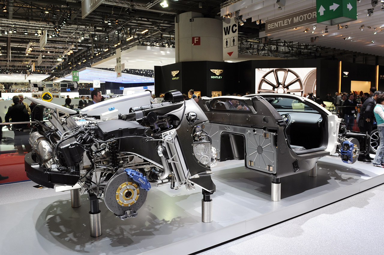 Bugatti Orders Two More Years Worth Of Transmissions    But Where Are They Going