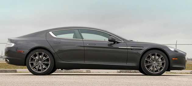 First Drive Aston Martin Rapide Is Always Ready For Its Close - Aston martin 4 door sedan