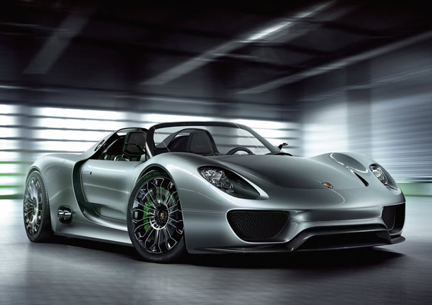 porsche 918 spyder plug in hybrid concept gets 78 mpg. Black Bedroom Furniture Sets. Home Design Ideas