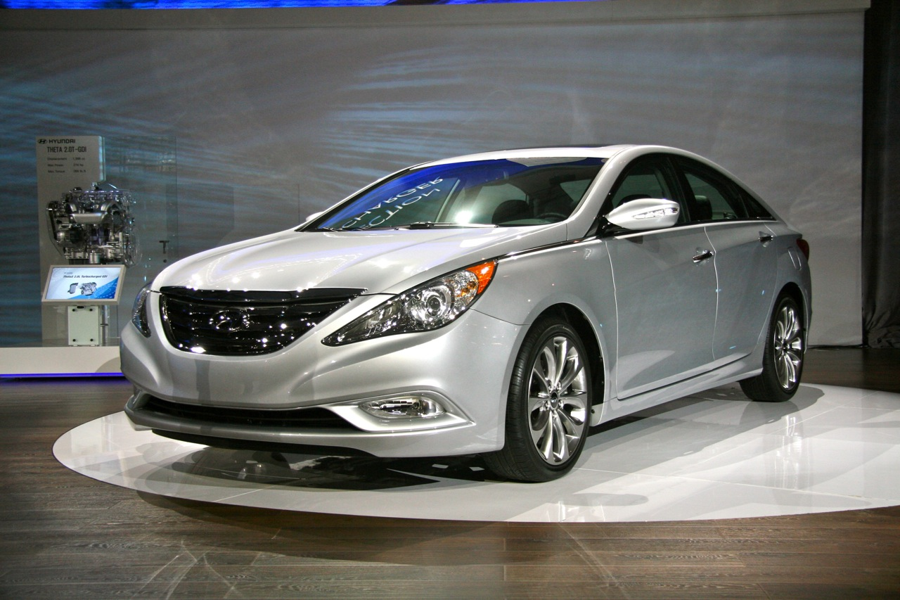 new york 2010 2011 hyundai sonata automotive wallpapers. Black Bedroom Furniture Sets. Home Design Ideas