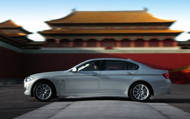 Big Stretch: BMW reveals long-wheelbase 5 Series for China [w/video]
