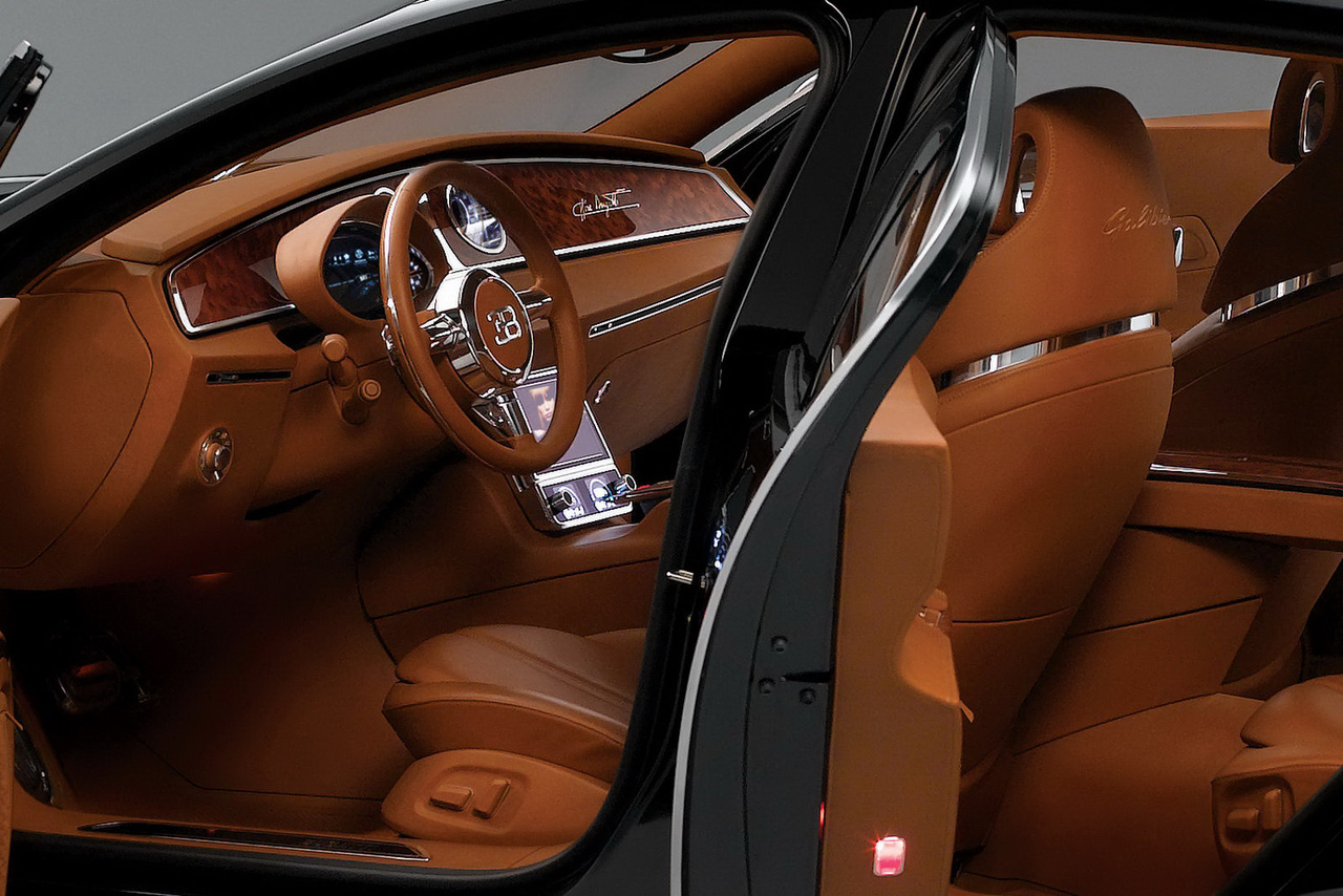 Bugatti 16c Galibier Concept In Black Photo Gallery Autoblog