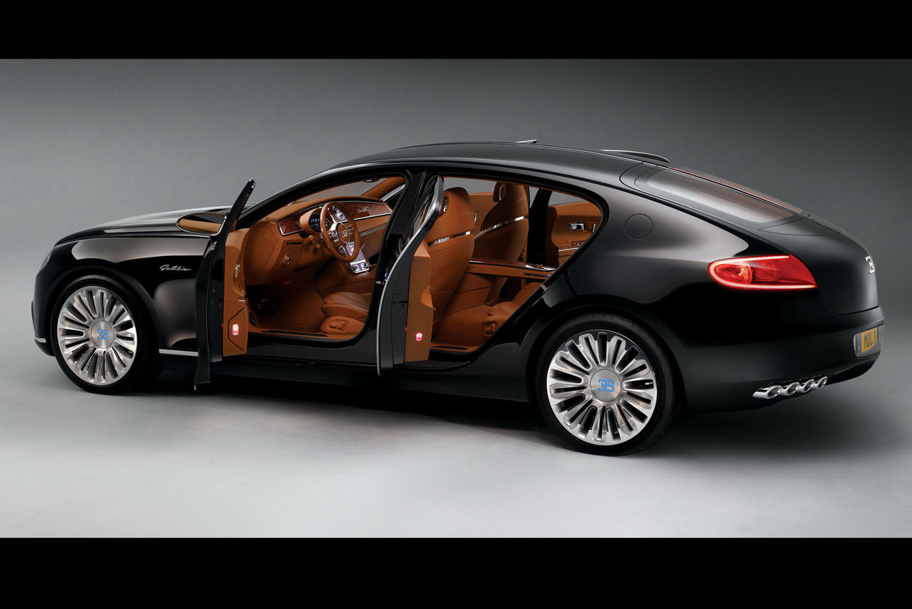 Bugatti 16C Galibier concept in black Photo Gallery - Autoblog