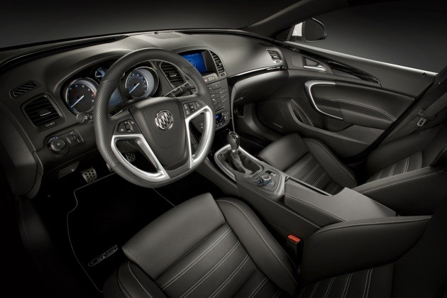 buick regal gs press 630 Ward's Auto selects 40 finalists for Interior of the Year award