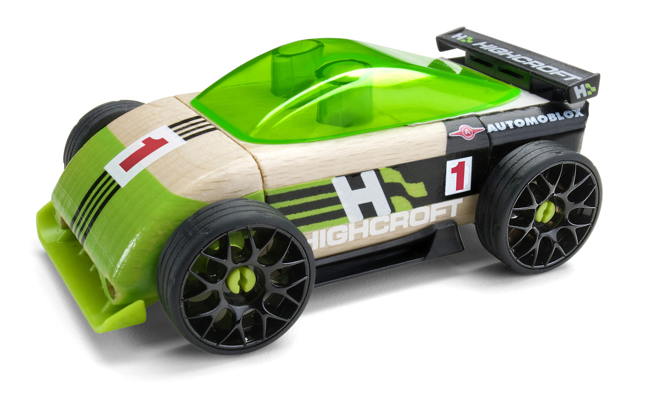Toy Race Trucks : Highcroft and automoblox rev up new partnership