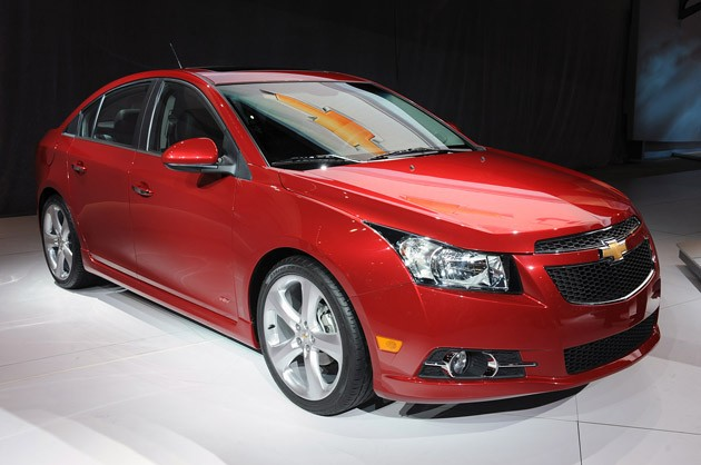 Worksheet. New York 2010 Chevrolet Cruze RS ups the entry level ante