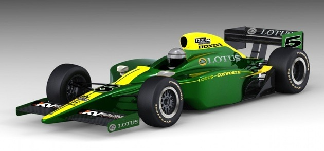 Lotus-Cosworth/KV Racing IndyCar