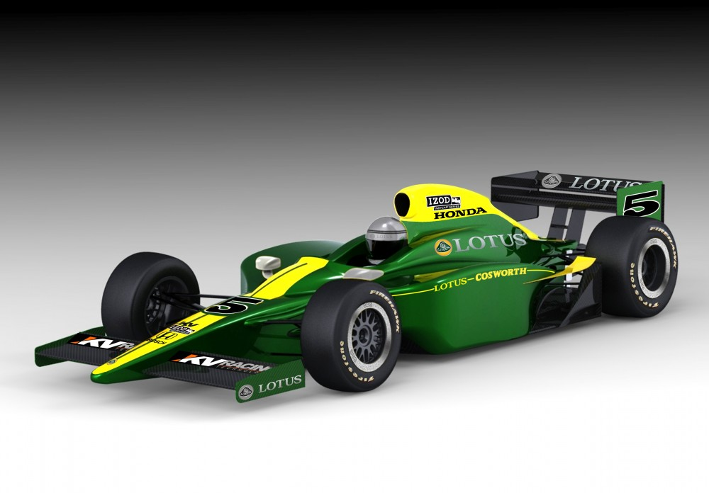 Lotus officially returns to Indy - LotusTalk - The Lotus Cars ...