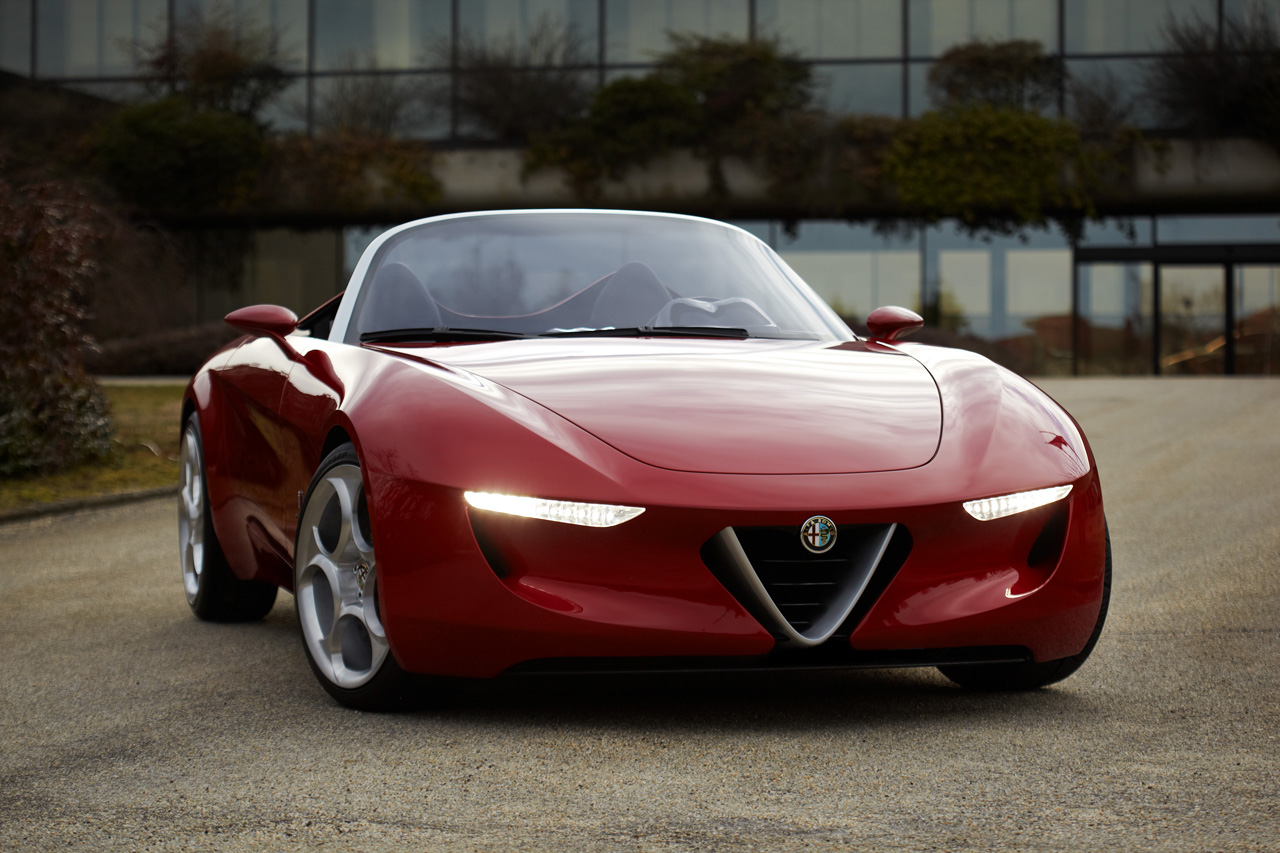 the Alfa Romeo Spider when