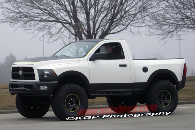 Spy Shots: Dodge Ram Power Wagon hits the streets in search of Ford