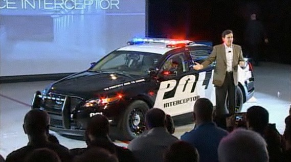 Officially Official: 2012 Ford Police Interceptor unveiled, second