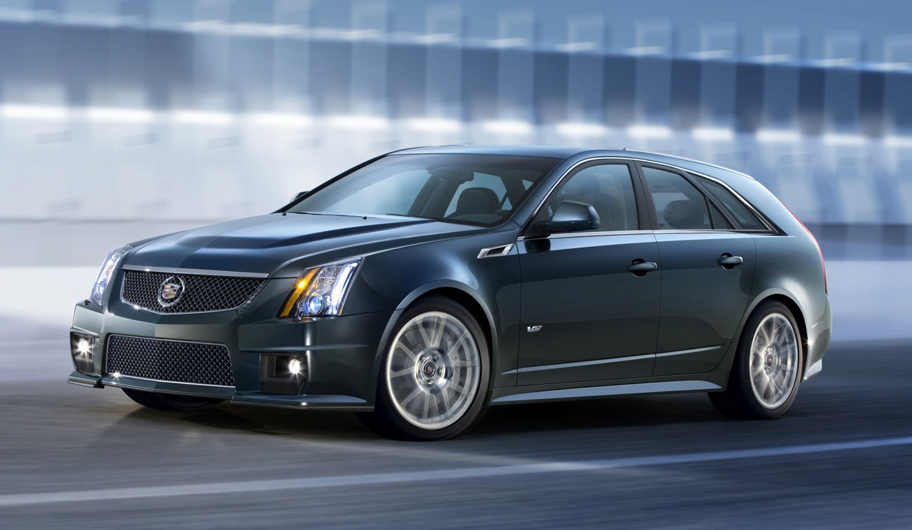 Re 2011 cadillac cts v sport wagon official photos and info