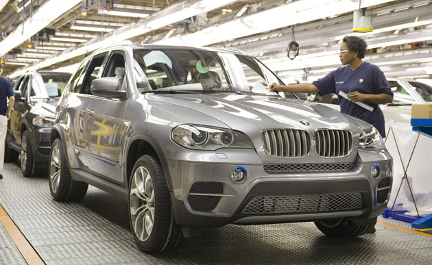 2011 BMW X5 comes on-line in Spartanburg, SC