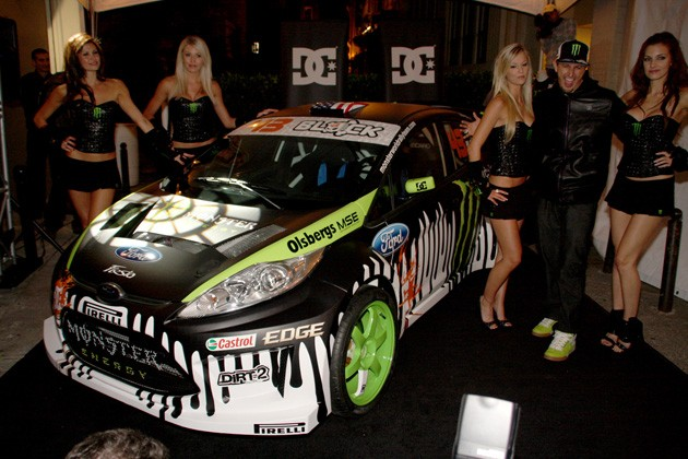 Although Ken Block stated last