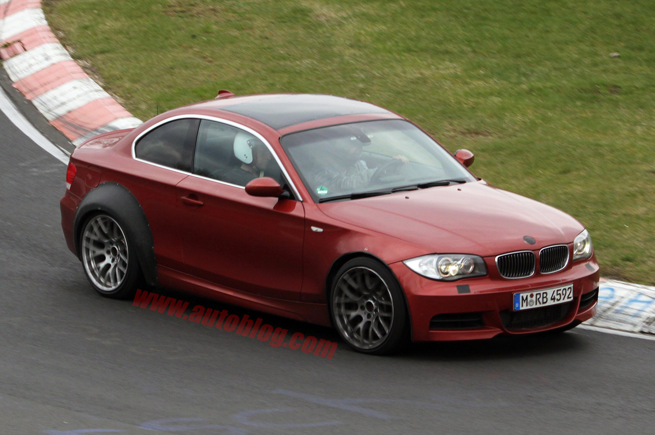 Spy Shots: BMW 1 Series M Coupe – Click above for high-res image ...