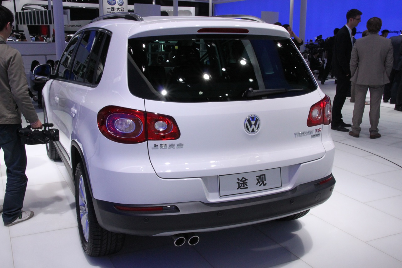 beijing 2010 2011 volkswagen tiguan photos. Black Bedroom Furniture Sets. Home Design Ideas