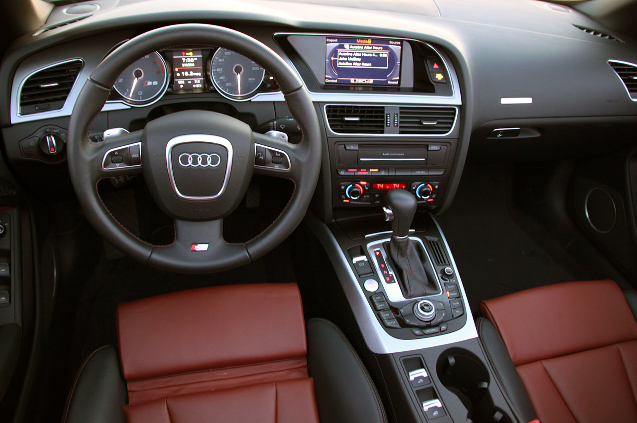 2010 Audi A5 Convertible Interior Images & Pictures - Becuo