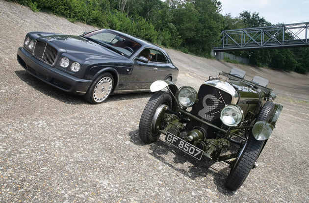Bentleys at Brooklands