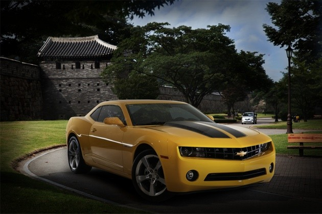 Chevrolet Camaro in Korea