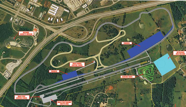 corvette museum wants to build race track across the highway. Black Bedroom Furniture Sets. Home Design Ideas