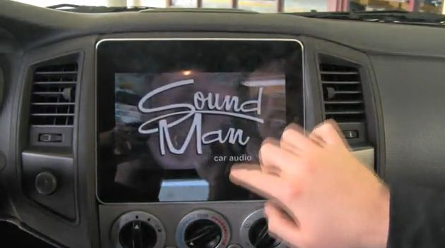 World's first Apple iPad automotive installation