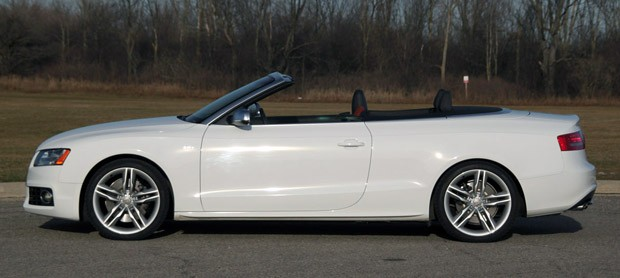 Review 2010 Audi S5 Cabriolet Speaks Too Softly But Carries A Big
