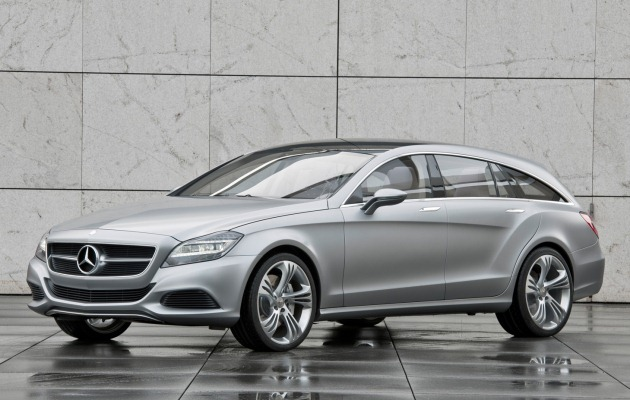 mercedes benz cls shooting concept