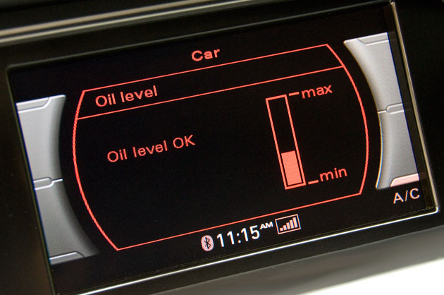 Technology alert the dipstick 39 s demise is blamed on for Motor oil for audi q5