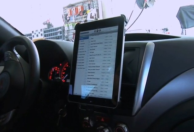 Scosche Developing First Official Ipad Dash Mount Kit