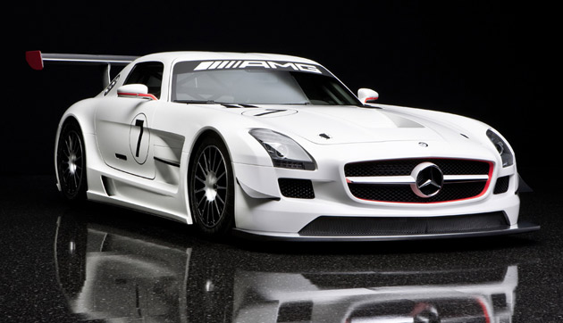 mercedes amg black series. Mercedes-Benz SLS AMG GT3