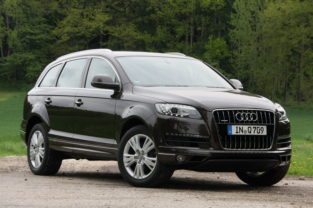 2011 audi q7 dark cars wallpapers. Black Bedroom Furniture Sets. Home Design Ideas