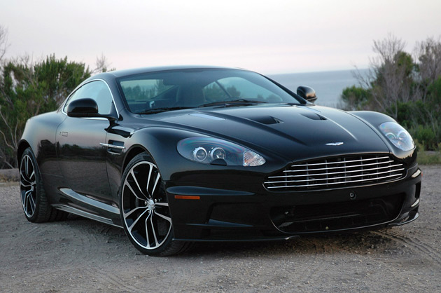 2010 Aston Martin DBS Carbon Black - Click above for high-res image ...