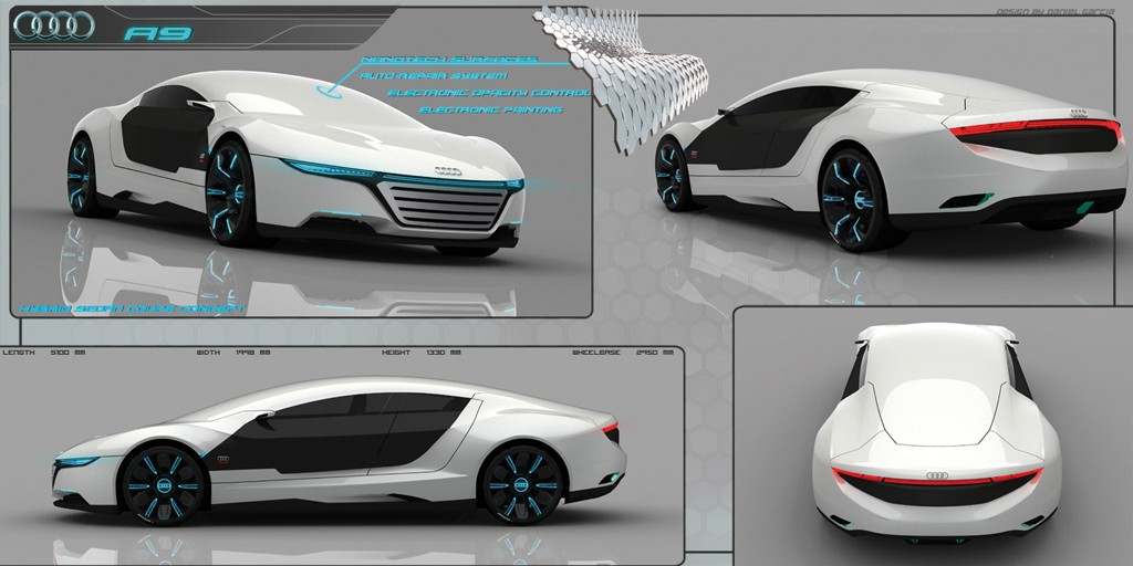 Rendered Speculation Audi A9 Concept