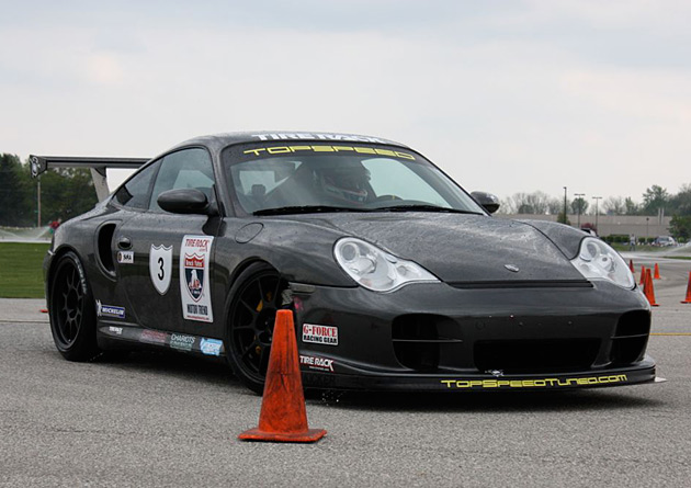 20 one lap part deuxopt 2010 One Lap of America: No. 3 Porsche 911 GT2 outlasts all comers