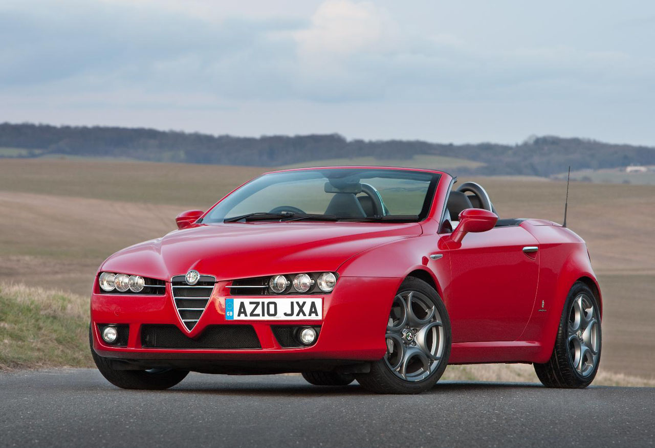 2011 Alfa Romeo Brera & Spider Photo Gallery - Autoblog