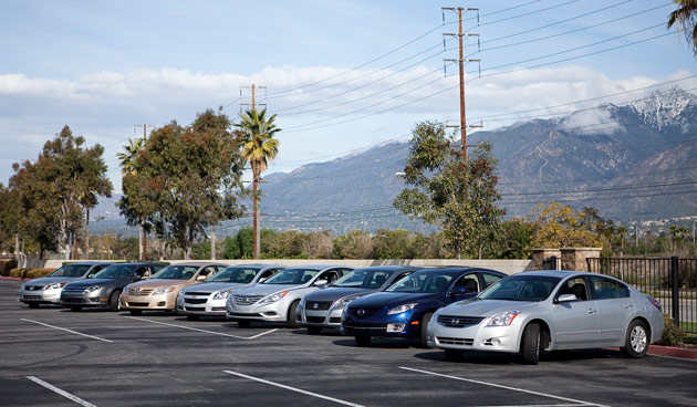 Cars.com hosts eight-car family sedan shootout with surprising results