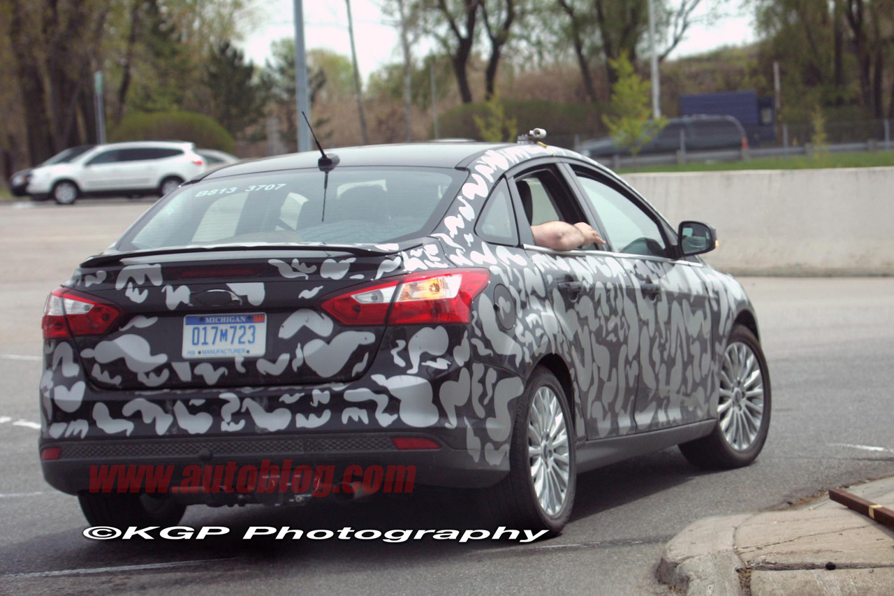 Squint Your Eyes And On This New Ford Car