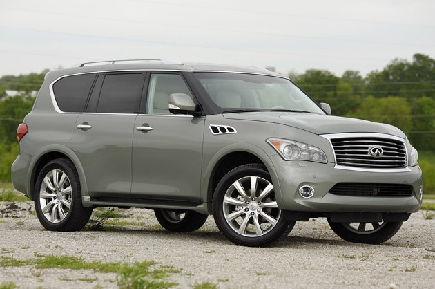 First Drive 2011 Infiniti Qx56 Overcomes The Odds