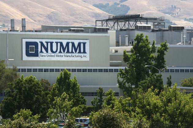 NUMMI facility
