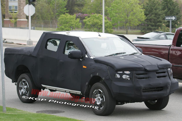 spy shots  next-gen ford ranger and chevy colorado replacements spotted in the u s  -