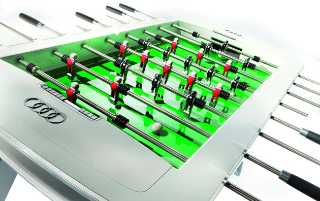 Audi Designs foosball table