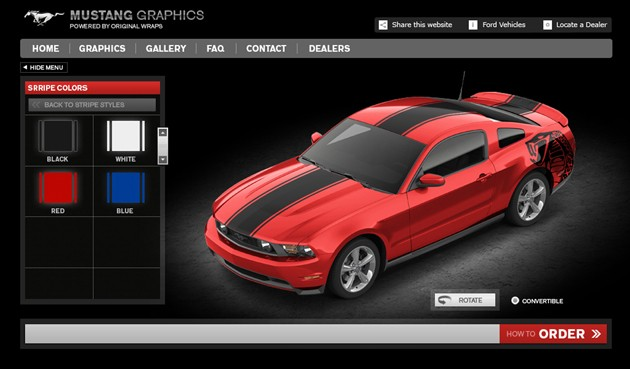 Ford Custom Vinyl Graphics Now Available For F 150 Mustang