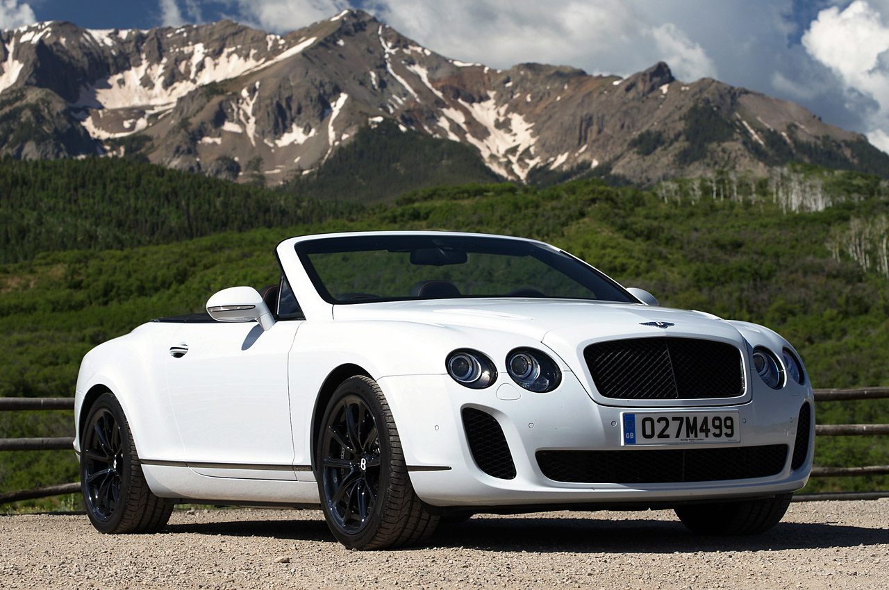 2011 Bentley Continental Side View