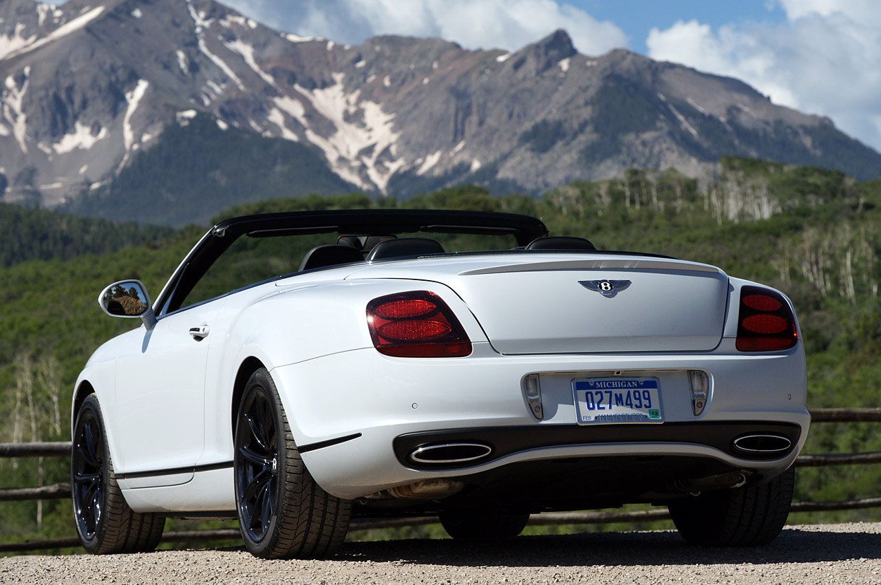 2011 Bentley Continental Rear View