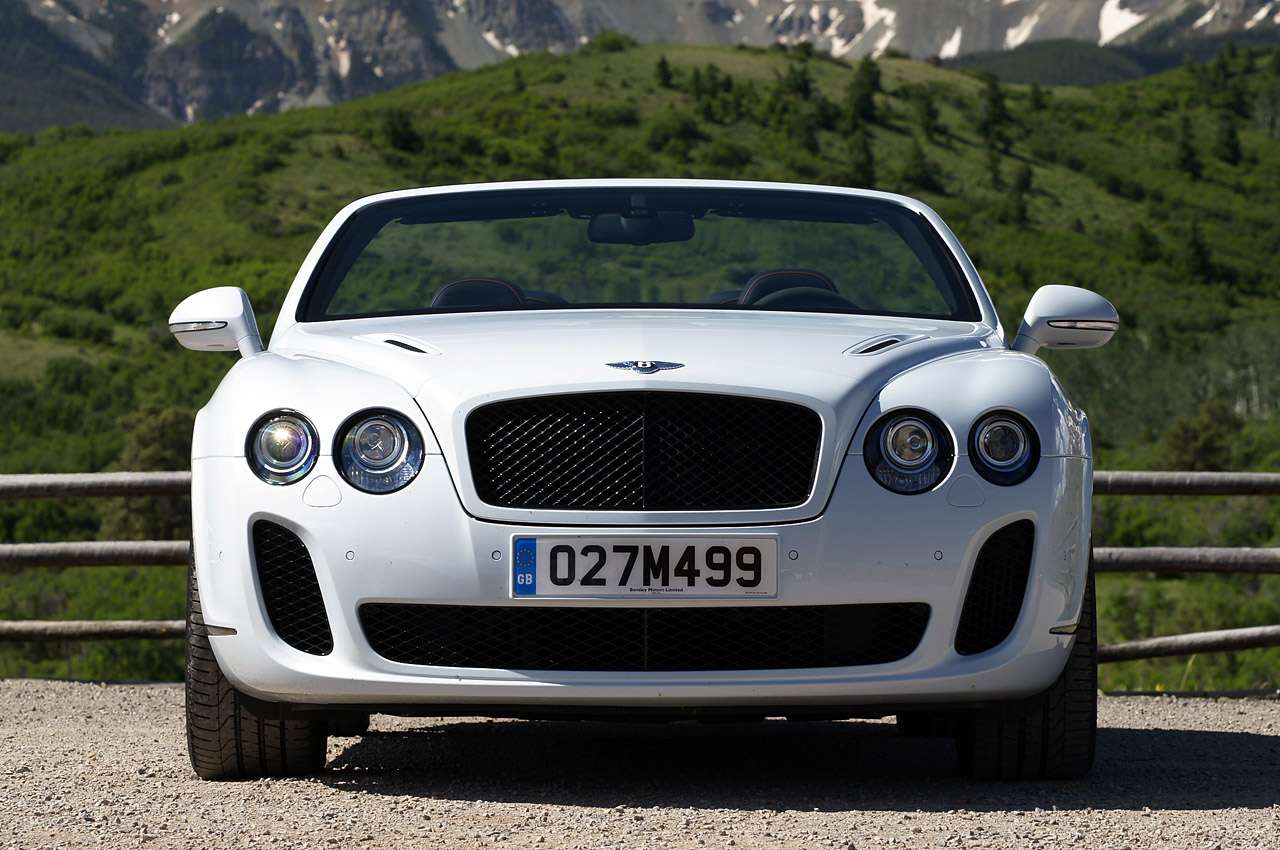 2011 Bentley Continental Front View