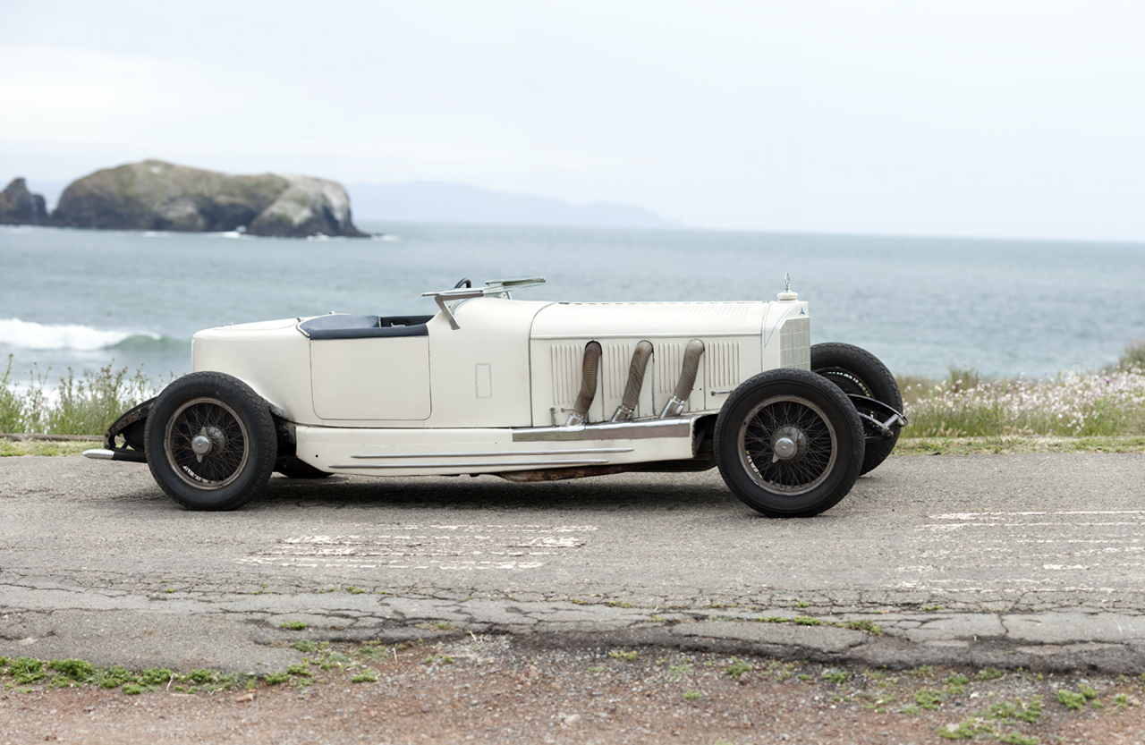 Pebble Beach 2010: Marx Brothers' 1927 Mercedes-Benz S Boattail ...
