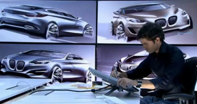 Video: BMW 0 Series leaks out in corporate video?