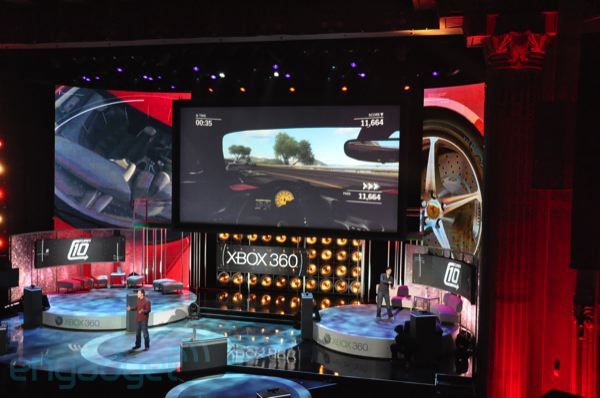 Microsoft shows off Kinect-capable version of Forza Motorsport