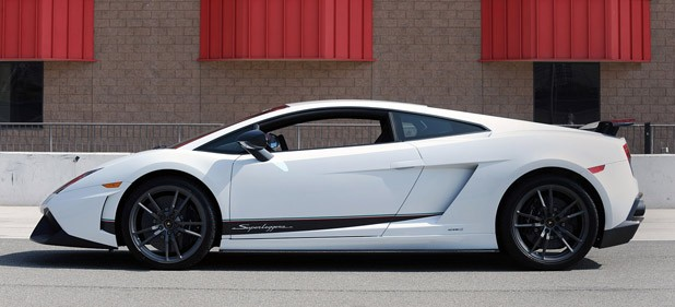 All Pale On A Race Circuit When Compared To The All New 2010 Lamborghini  Gallardo LP 570 4 Superleggera.
