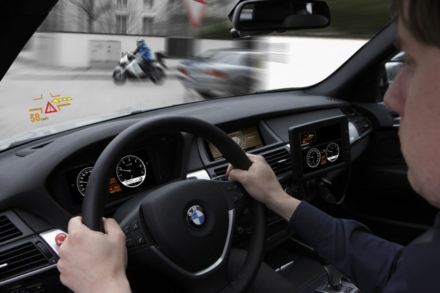 BMW and Volkswagen demonstrating safety technology for AKTIV project in Germany